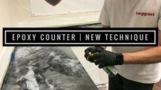Epoxy Countertop Coating with New Technique - Tips and Tricks from the P...