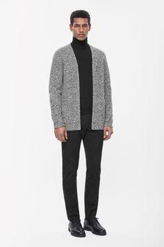 COS | Boiled wool cardigan