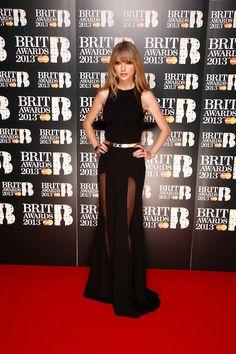 Taylor Swift wearing Elie Saab @ BRIT Awards