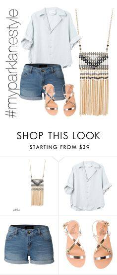 """""""My Park Lane Style"""" by parklanejewelry on Polyvore featuring LE3NO, Ancient Greek Sandals, parklanejewelry and myparklanestyle"""