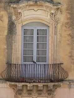 Balcony in Noto by pov_steve, via Flickr