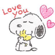 It's a new look for this always adorable beagle! Snoopy and friends get the crayon touch treatment in this animated sticker set. You'll love filling your chats with their cute moves and messages!