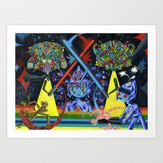 Principe Espaditas Art Print by charles glaubitz - $20.00