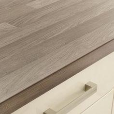 Grey Oak Block Style Worktop