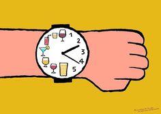 Zeitplanung an Feiertagen. Diese Illustration von @jean_jullien ist als Poster erhältlich. Link in der Bio.
