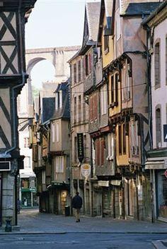 Morlaix, Bretagne, France.
