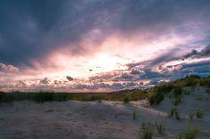 Prachtige natuur van Ameland - zonsondergang
