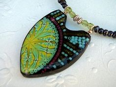PC Kaleidoscope sysphean pendant by * Naama Zamir, via Flickr