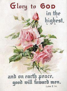 Pink Roses Spiritual Graphic