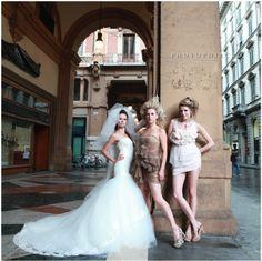 A Vogue wedding come to life.