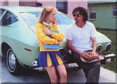 Winona Ryder & Tim Burton in Edward Scissorhands