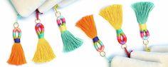 DIY Tassel Embellishments | Commonthread by DMC