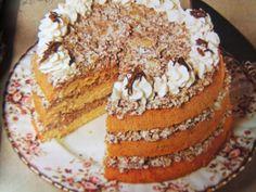 Chocolate Pear Sponge Cake