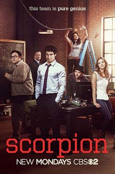 TODAY'S PICTURE OF THE DAY: Scorpion TV Poster absolutely my other favorite besides Bones