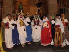 Traje típico de Canarias