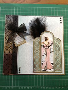 My Hunkydory Art Deco Card