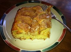 Make and share this Apple-Topped Cream Cheese Coffee Cake recipe from Food.com.