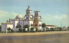 paintings of san xavier mission | Old Mission, San Xavier Del Bac Tucson Arizona