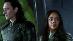 LOKI SHOULD BE TO THOR'S RIGHT <<Completely agree. The lineup didn't make much sense in that regard. Valkyrie would not have been on Thor's right due to her rank. Loki is still a prince, a member of royalty, and Thor's brother, so he should have been in her spot. Or yet, have his own chair next to Thor since they were basically leading the ship together.