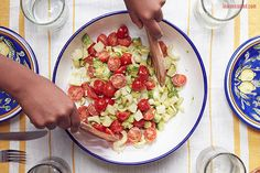 Lauren Conrad's Truffled Avocado, Tomato, and Hearts of Palm Salad