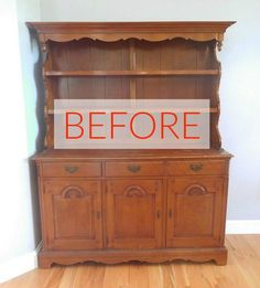8 Hutch Makeovers We Can't Stop Looking At