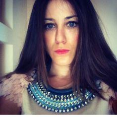 Diy handmade necklace by my dis #diy #fashion #style
