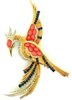 Bird Brooch by Boucher.