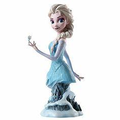 #Frozen - Elsa - Bust - Walt Disney Mini Busts - World-Wide-Art.com #Disney