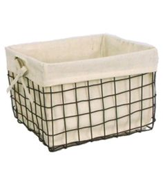 Finally. I finally found the perfect basket. And guess what. They're out of stock.