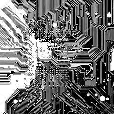 Circuitos de computadora en vector