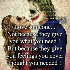 Discover and share Harley Quinn And Joker Quotes. Explore our collection of motivational and famous quotes by authors you know and love. Citations Jokers, Citations Film, Joker Quotes, Me Quotes, Qoutes, Nerd Love Quotes, Young Quotes, Harley Quinn Et Le Joker, Madly In Love
