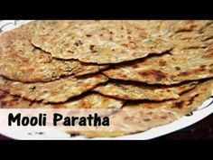 Simple Healthy Mooli Paratha @RecipesYouLike