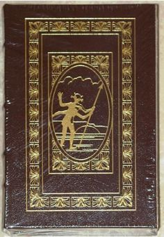 AT THE EARTH'S CORE & A PRINCESS OF MARS by EDGAR RICE BURROUGHS  Published by The Easton Press, this is an Exclusive Leather-Bound Collector Edition that is as beautiful to see as it is to read!