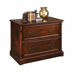 Cobblestone Cherry Traditional File Cabinet - 30498 and more File Cabinets NBF $795