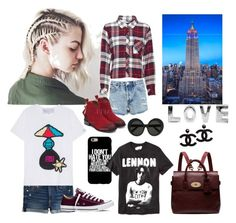 """""""totally cool"""" by janeellie ❤ liked on Polyvore featuring Rails, American Eagle Outfitters, Miss Selfridge, Michaela Buerger, Converse, Linda Farrow, Mulberry and Old Navy"""