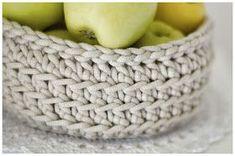 bandorka: Košíček na kupu jablíček :)