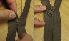 Aprende a arreglar una cremallera rota en menos de un minuto con este truco