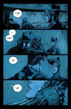 A Return to Love: The Rebirth of BatCat. It all started off in the most inauspicious way: This final cell at the end of Batman # 9 marked the introduction of Catwoman to Rebirth. Nightwing, Batgirl, Catwoman Y Batman, Catwoman Cosplay, Batman Art, Joker, Batman Robin, Dc Comics Art, Marvel Dc Comics