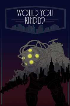 Bioshock Big Daddy Print by porkies on Etsy, $3.00