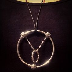 Pandora Charm Necklace. Hot Sale!!! SKU: CN01023 - PANDORA Necklace Ideas  On BraceletGifts.com | PANDORA I LOVE | Pinterest | Pandora necklace