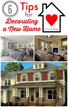 6 Tips for Decorating a New Home from AttaGirlSays.com #ILoveLennar #sponsored