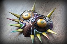 Prop Maker Uses 3D Printing to Create Astonishing Majora's Mask from 'The Legend of Zelda: Majora's Mask'