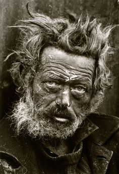 Don McCullin – Homeless Irishman : what an interesting eyes! He must have seen a lot. Could watch this face for hours