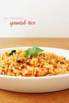 Lulu the Baker: recipe for Spanish Rice!