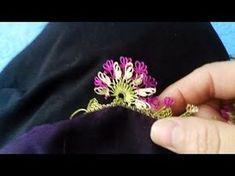 Yepyeni ve Çok Güzel İğne Oyası Modeli - Yapılışı / Sesli Anlatım (HD) - YouTube