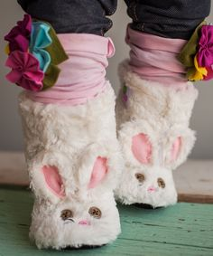 Gracious May White Faux Fur Bunny Boots Bunny Slippers, Be Your Own Kind Of Beautiful, Kids Boots, Kids Events, Ball Jointed Dolls, Little Ones, Snug, Cute Babies, Faux Fur