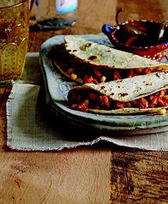 Turkey Picadillo Tacos by Marcela Valladolid