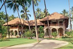 The architect was inspired by Southeast Asian and British Colonial design styles when creating a grand residence near Mumbai Dubrovnik, British Colonial Decor, Colonial Architecture, Box Architecture, Spanish Architecture, Contemporary Architecture, Bungalow Exterior, Plantation Homes, Tropical Houses
