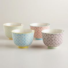 One of my favorite discoveries at WorldMarket.com: Charlotte Bowls, Set of 4