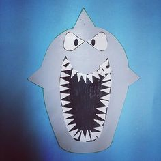easy-origami-shark-craft-idea-for-kids | Crafts and Worksheets for ...